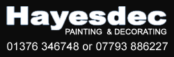Contact Hayesdec professional decorators and painters in Braintree, Essex